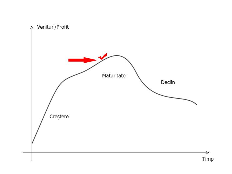 Momentul ideal teoretic - vânzare afacere
