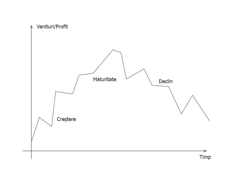 Ciclu viață afacere fără pregătire pentru vânzare
